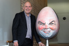 Steven Joyce urged US-based TV satirist John Oliver to 'get it over with' and send up his dildo encounter. Photo / NZME