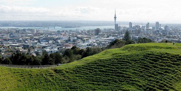 Auckland is rapidly expanding due to the increased demand for housing. Photo / Martin Sykes