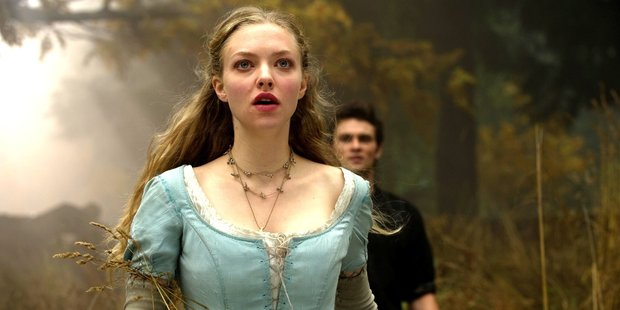Amanda Seyfried as Valerie in the romantic fantasy thriller Red Riding Hood.