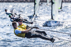 Peter Burling and Blair Tuke have gone into the record books winning four consecutive Olympic 49er World Championships. Photo / Jesus Renedo