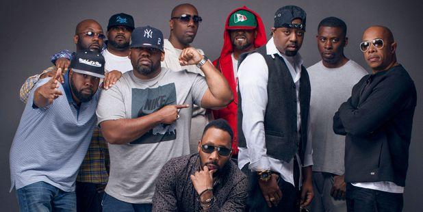 Staten Island rap collective Wu-Tang Clan.