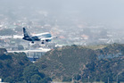 """NZIER analysis states the 350 metre runway extension planned for Wellington International Airport is """"highly speculative and should not proceed."""" Photo / Mark Mitchell"""