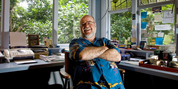 Robin Judkins at his home in Sumner, Christchurch. Photo / Simon Baker