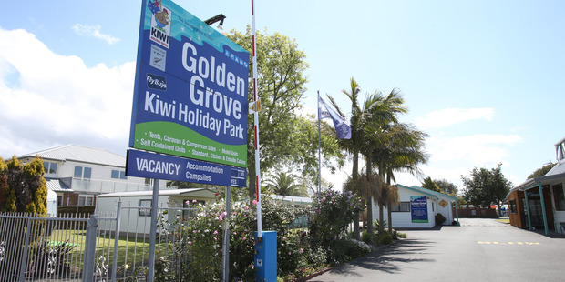Golden Grove Holiday Park on Girven Rd. Photo/file