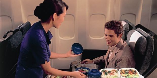 Who could possibly complain about business class? Photo / Supplied
