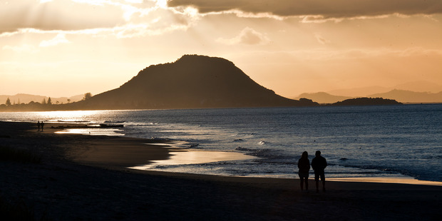 Maunganui Beach was named the best beach in New Zealand. Photo / Andrew Warner
