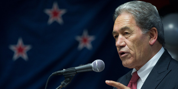 Winston Peters said he had called for years for New Zealand to peg back immigration and despite the pressure on Auckland, figures were at record high levels. Photo / Stephen Parker