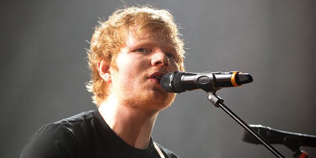 British singer Ed Sheeran. Photo / Dean Purcell