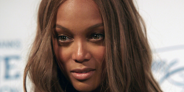 Model Tyra Banks has posted the first pic of her new baby, and he's just as photogenic as she is.