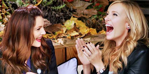 Drew Barrymore and Toni Collette star in a scene from Miss You Already.