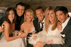 The cast of the TV show Friends.