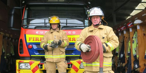 Local fire chief Ian Blunt. Photo / NZME.
