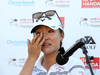 Lydia Ko got emotional at her press conference. Photo / Getty Images