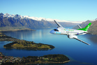 Kiwi Regional Airlines flying above Queenstown. Photo/supplied
