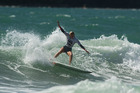 Whangarei's Billie Scott finished seventh overall in the Under 17 Girls division at the second 2016 Billabong Grom Series event held in Whangamata. PHOTO/ INTHEDRINK