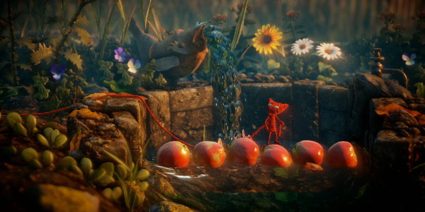 A scene from Unravel, an Xbox One and Playstation 4 game.