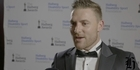 Watch: Halberg Awards: Brendon McCullum wins Sport New Zealand Leadership award