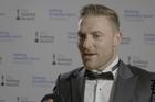 Retiring captain Brendon McCullum won the Sport New Zealand Leadership award last night in Auckland.