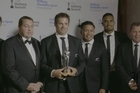 The All Blacks took out the team of the year - beating Peter Burling and Blair Tuke, Hamish Bond and Eric Murray and the Black Caps - and then won the Halberg Supreme Award.