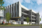 An artist's impression of the new building designated Building 5 at 60 Highbrook Drive.