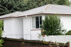 The house in Archibald St, Kaitaia, where Vietnam Veteran Ian McLeod died on Friday after a drive-by shooting outside. Photo / Peter Jackson
