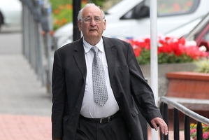 Gerald McKay who denies 11 charges, including five of dishonestly using invoices with intent to obtain pecuniary advantage. Photo / Duncan Brown