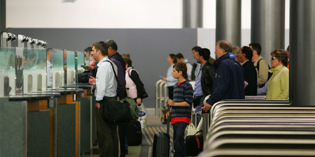 There was record net migration into New Zealand last year - arrival numbers led by countries where bribery to speed up government services is common. Photo / NZ Herald