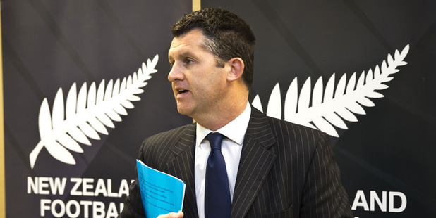 New Zealand Football CEO Andy Martin. Photo / Greg Bowker