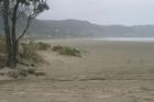 Ahipara Beach where a Swiss tourist died on Tuesday.