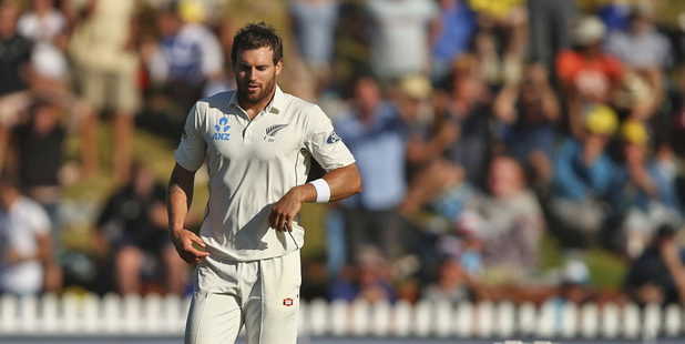 Doug Bracewell will miss the second test. Photo /Getty
