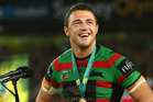 Sam Burgess in the last match he played for South Sydney. Photo / Getty
