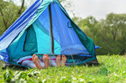 A little bit of orderliness will make relaxation more possible. Especially when your camping involves kids and the mayhem they bring. Photo / iStock