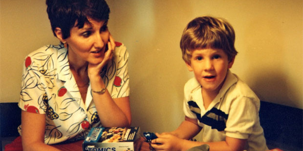 Sue Klebold with her son Dylan, who at age 17 would help commit the 1999 shooting at Columbine High School.