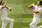 Trent Boult and Tim Southee, the country's finest opening partnership since Hadlee and Collinge, have added to those legacies. Photo / Getty Images