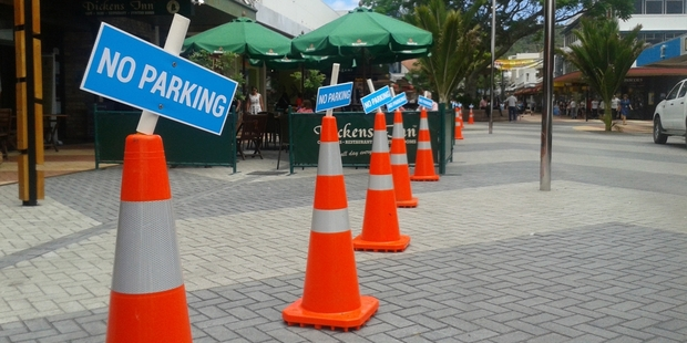 The contentious issue of parking in Whangarei, including in the CBD, above, is up for debate today. Photo / Mike Dinsdale