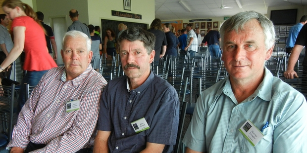 Murray Douglas (right) is one of  four Fonterra farmers who will travel to Sri Lanka to share knowledge of dairying with farmers there.