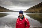 Young Blake Expedition student voyager Tamahauiti Potaka in New Zealand's sub-Antarctic, the Auckland Islands. Photo / Brendon O'Hagan