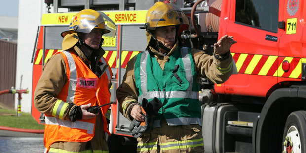 Fire shift commander David Meikle says six appliances are in attendance battling the fire. File photo