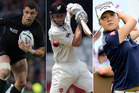 Dan Carter, Kane Williamson and Lydia Ko are all nominated for Halberg Awards. Photos / Brett Phibbs and Getty