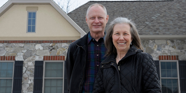 Mike and Brenda Scyphers movedto the Links at Gettysburg about 10 months ago and were excited about the energy savings and structure of the homes. Photo / Washington Post