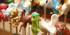 Amezaiku candies in the shape of various cute critters at Amezaiku Yoshihara in Bunkyo Ward, Tokyo. Photo / Yomiuri Shimbun