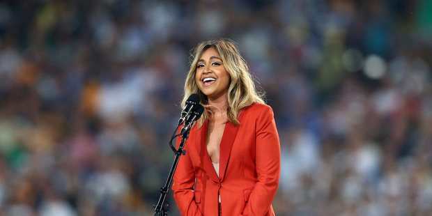 Jessica Mauboy failed to take the stage at last years Melbourne Cup, now she shares the reason why. Photo / Getty