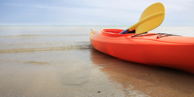 The man was heading out to fish from his kayak when a metal sinker punctured his elbow. Photo / iStock