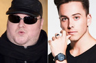 Kim Dotcom raved about Max Key's DJ debut on Twitter. Photos / Getty Images / Instagram