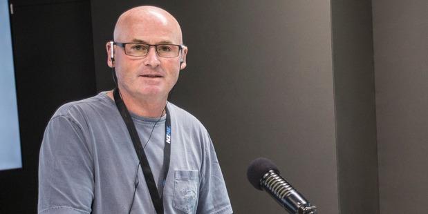 Newstalk ZB radio host Larry Williams. Photo / Michael Craig