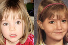 Left: Maddie at age 3 in 2007. Right: An age-enhanced photo of how Maddie might look at age 6. Photos / Supplied