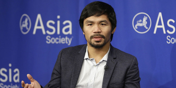 Manny Pacquiao. Photo / AP