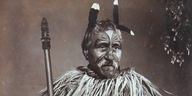 The photos depict Maori in the late 19th century. Photo / Supplied