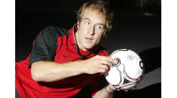 Doctor McDreamy/ former goalkeeper Mark Fulcher.