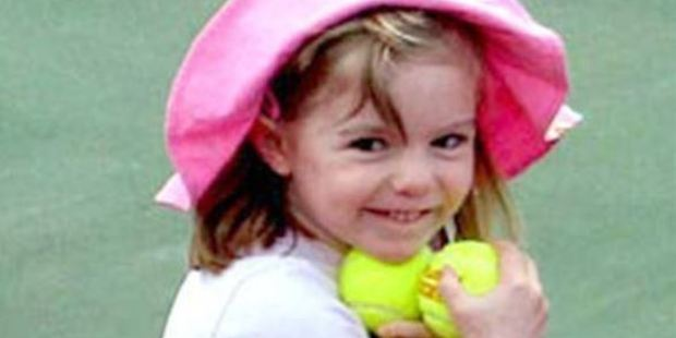 Madeleine was three years old when she disappeared in Portugal. Photo / Official Find Madeleine Campaign Facebook